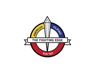 mark for THE FIGHTING EDGE AMERICAN FILIPINO KUN TAO, trademark #85730314
