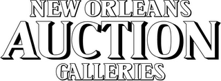 mark for NEW ORLEANS AUCTION GALLERIES, trademark #85730683