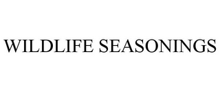 mark for WILDLIFE SEASONINGS, trademark #85730828