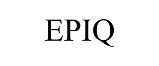 mark for EPIQ, trademark #85730931