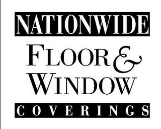 mark for NATIONWIDE FLOOR & WINDOW COVERINGS, trademark #85730941