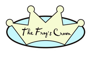 mark for THE FROG'S CROWN, trademark #85731043