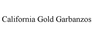 mark for CALIFORNIA GOLD GARBANZOS, trademark #85731062