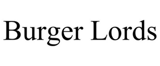 mark for BURGER LORDS, trademark #85731179