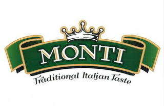mark for MONTI TRADITIONAL ITALIAN TASTE, trademark #85731353