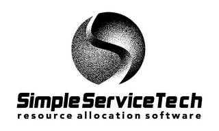 mark for SIMPLE SERVICE TECH RESOURCE ALLOCATION SOFTWARE, trademark #85731412