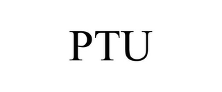 mark for PTU, trademark #85731488