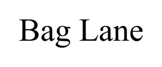 mark for BAG LANE, trademark #85731680