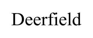 mark for DEERFIELD, trademark #85731733