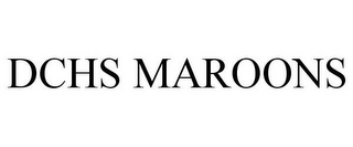 mark for DCHS MAROONS, trademark #85731791