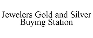 mark for JEWELERS GOLD AND SILVER BUYING STATION, trademark #85732077