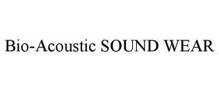 mark for BIO-ACOUSTIC SOUND WEAR, trademark #85732349