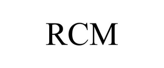 mark for RCM, trademark #85732443