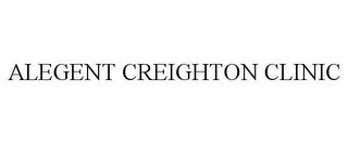 mark for ALEGENT CREIGHTON CLINIC, trademark #85732488