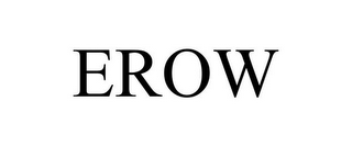 mark for EROW, trademark #85732577