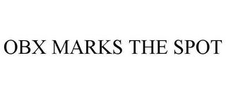 mark for OBX MARKS THE SPOT, trademark #85732685