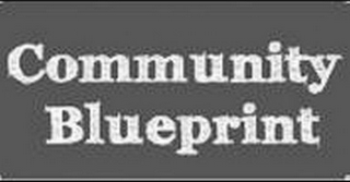 mark for COMMUNITY BLUEPRINT, trademark #85733192