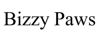 mark for BIZZY PAWS, trademark #85733276