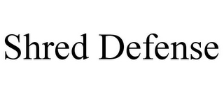 mark for SHRED DEFENSE, trademark #85733277