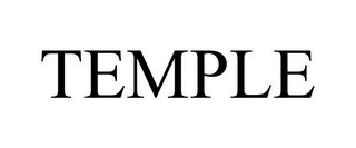 mark for TEMPLE, trademark #85733345