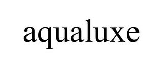mark for AQUALUXE, trademark #85733400