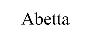 mark for ABETTA, trademark #85733521