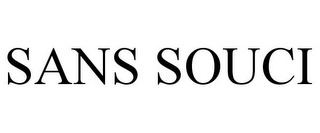 mark for SANS SOUCI, trademark #85733652