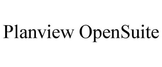 mark for PLANVIEW OPENSUITE, trademark #85733711