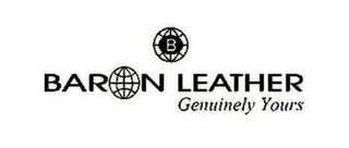 mark for BARON LEATHER GENUINELY YOURS, trademark #85733815