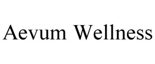 mark for AEVUM WELLNESS, trademark #85733880
