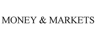 mark for MONEY & MARKETS, trademark #85734149