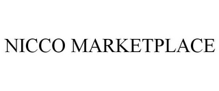 mark for NICCO MARKETPLACE, trademark #85734611