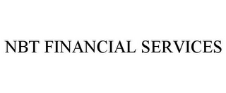 mark for NBT FINANCIAL SERVICES, trademark #85734641