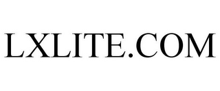 mark for LXLITE.COM, trademark #85734705