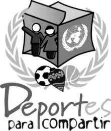 mark for DEPORTES PARA COMPARTIR, trademark #85734958