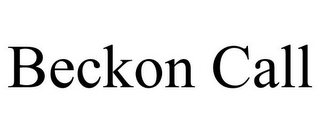 mark for BECKON CALL, trademark #85734959