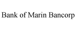 mark for BANK OF MARIN BANCORP, trademark #85735042