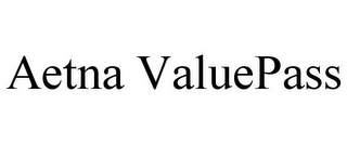 mark for AETNA VALUEPASS, trademark #85735182
