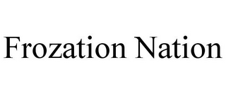 mark for FROZATION NATION, trademark #85735739