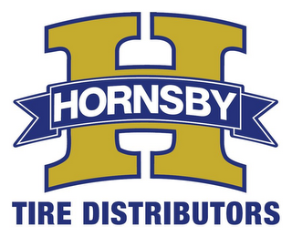 mark for H HORNSBY TIRE DISTRIBUTORS, trademark #85736226