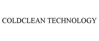 mark for COLDCLEAN TECHNOLOGY, trademark #85736263