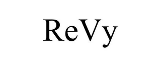mark for REVY, trademark #85736275