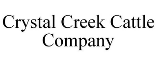 mark for CRYSTAL CREEK CATTLE COMPANY, trademark #85736522