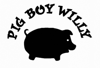mark for PIG BOY WILLY, trademark #85736719