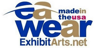 mark for EA WEAR EXHIBITARTS.NET MADE IN THE USA, trademark #85736999