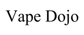 mark for VAPE DOJO, trademark #85737027