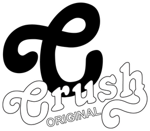 mark for C CRUSH ORIGINAL, trademark #85737388