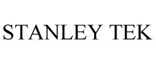 mark for STANLEY TEK, trademark #85737879