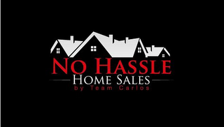 mark for NO HASSLE HOME SALES BY TEAM CARLOS, trademark #85738042