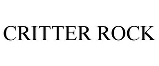 mark for CRITTER ROCK, trademark #85738081